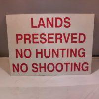 Lands Preserved